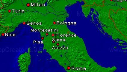 Geheimen Toscana