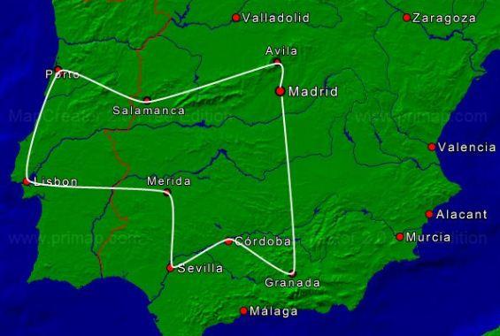 SpanjePortugal