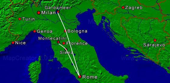 ToscanaRomeGarda