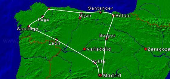 Het groene Spanje