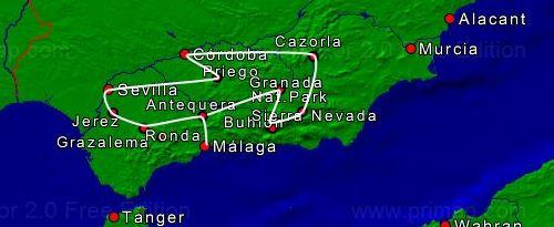 Parels Andalusie