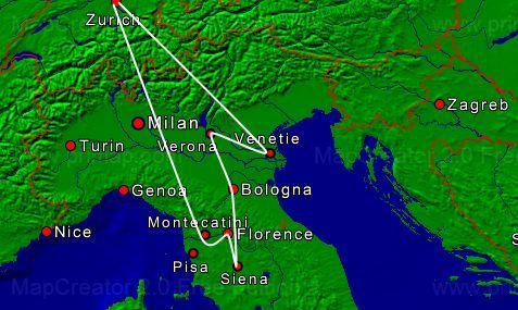 9dg Toscana-Garda-Venetie