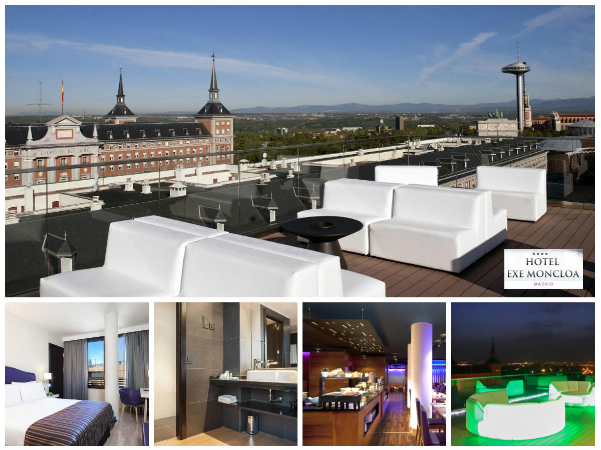 collage-hotel-moncloa